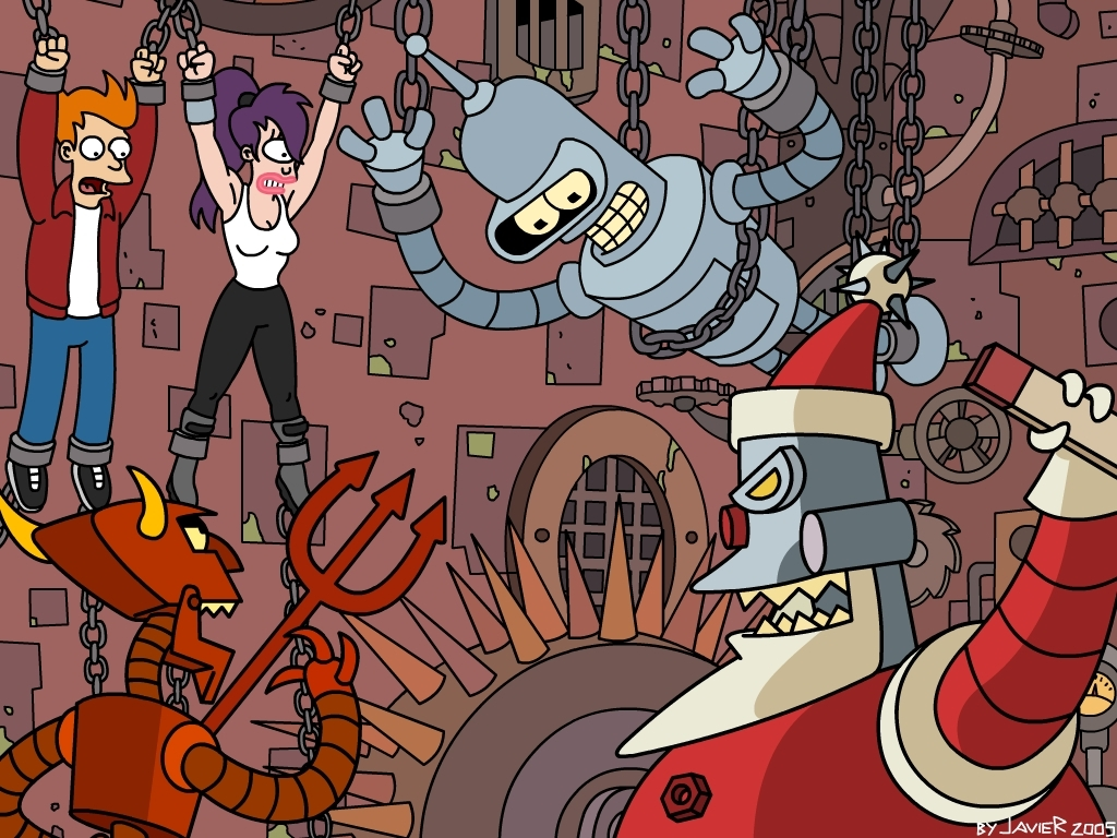 futurama best wallpaper