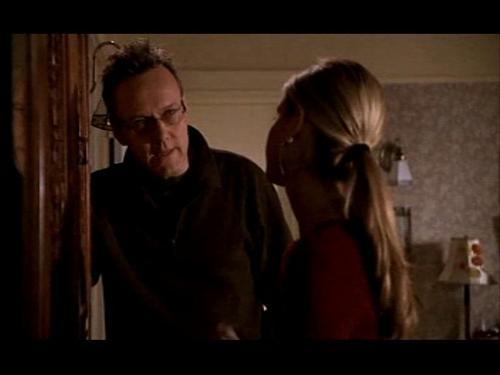 Giles and Buffy