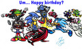 Happy Birthday Sonic ^^;