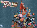 Happy Holidays - dc-comics wallpaper