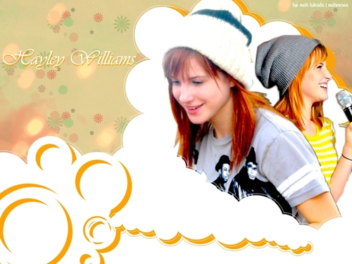 paramore fondo de pantalla probably with a fedora and a portrait called Hayley