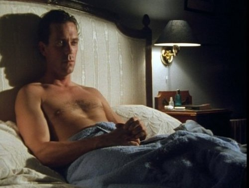 Hugh in bed