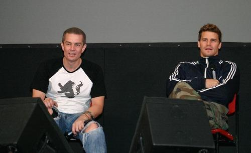 James Marsters & David Boreanaz