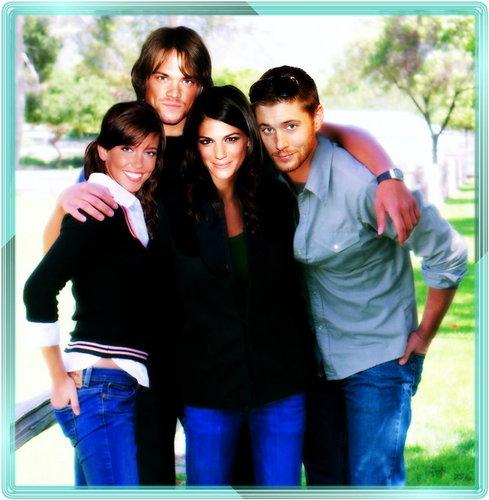 Jared, Jensen, Genevieve & Katie
