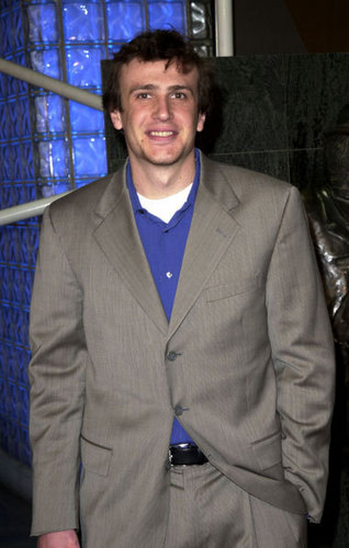 Jason Segel wallpaper containing a business suit, a suit, and a well dressed person titled Jason