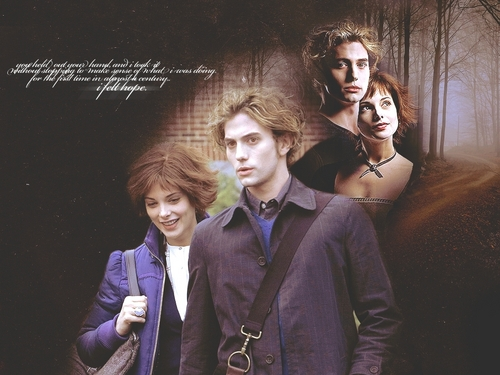 Twilight Series wallpaper entitled Jasper & Alice Wallpaper