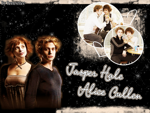 Movie Couples wallpaper with a sign entitled Jasper*Alice