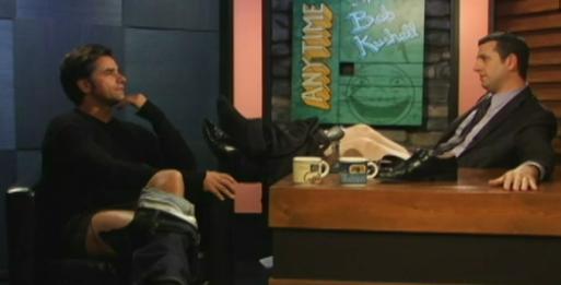 John Stamos Pantless on Anytime With Bob Kushell