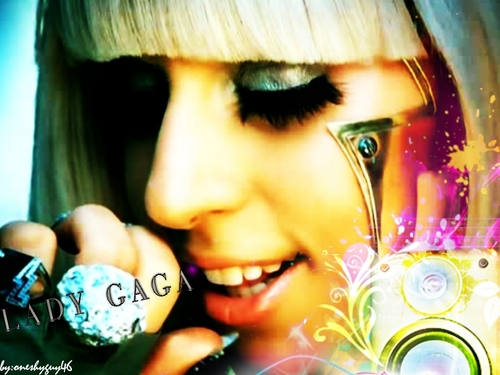 Lady Gaga wallpaper possibly containing a portrait called Lady Gaga Wallpaper