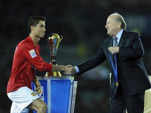 Manchester United win Club World Cup 日本 2008