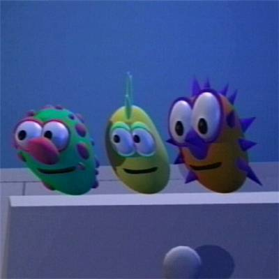 Monsters from Junior's bedroom - veggie-tales Photo
