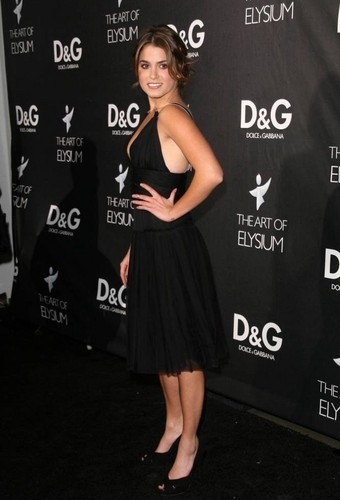 Nikki at D&G Flagship Boutique Opening