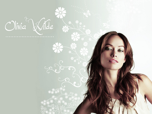 Olivia Wilde wallpaper probably containing a portrait called Olivia Wilde