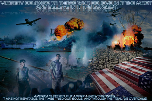 Pearl Harbor Wallpapers, 图标 and banners 由 Daan 设计