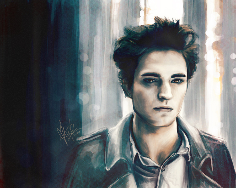 Really good edward fanart twilight series fan art for Twilight edward photos