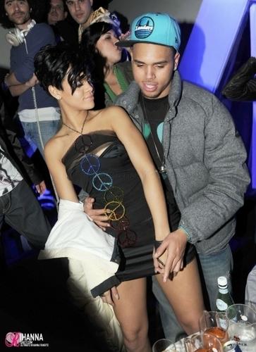 Rihanna & Chris