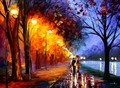 Romantical love painting foto