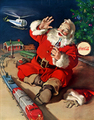 Santa coke - santa-claus photo
