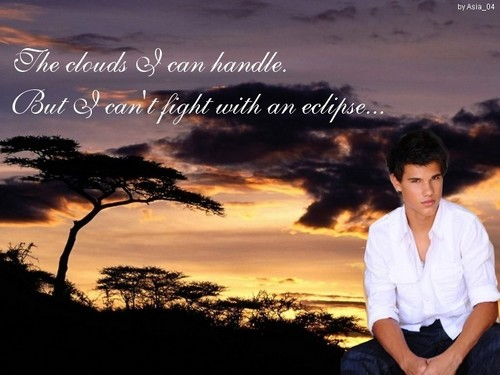 Edward Cullen vs. Jacob Black wallpaper containing a sunset, a well dressed person, and a portrait entitled Sexxi Jacob xD