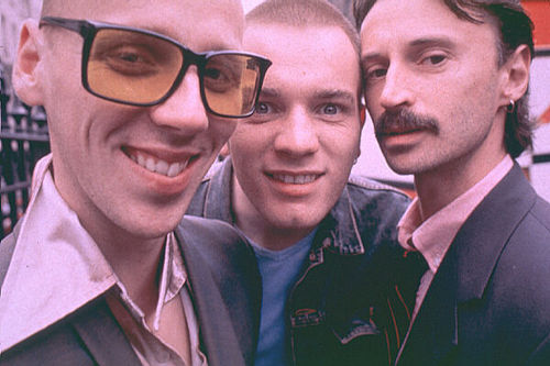Spud, Begbie, and Renton
