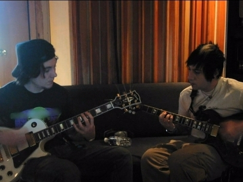 Synyster Gates and Zacky Vengeance