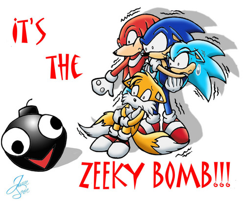 THE ZEEKY BOMB O_o RUN AWAAY!!