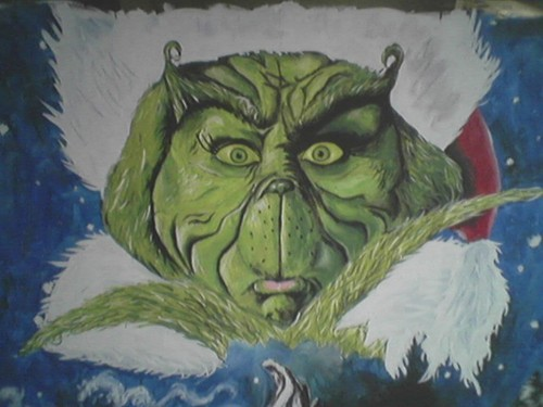 How The Grinch estola navidad fondo de pantalla with anime titled The Grinch