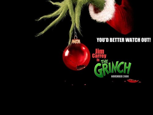 How The Grinch Stole Christmas wallpaper possibly containing a bouquet and a hippeastrum entitled The Grinch