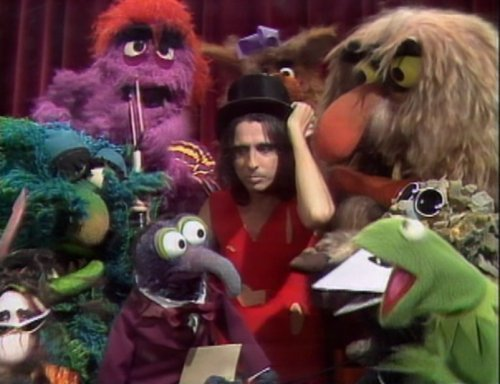 The Muppet onyesha with Alice Cooper