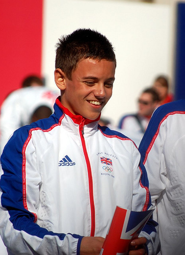 Tom Daley wallpaper called Thomas Robert Daley