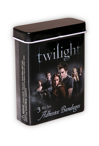 Twilight Bandaids!  lol XD