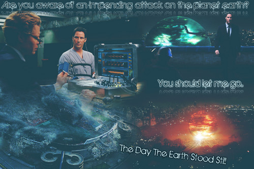 wallpaper - the dia the earth stood still - Daan design