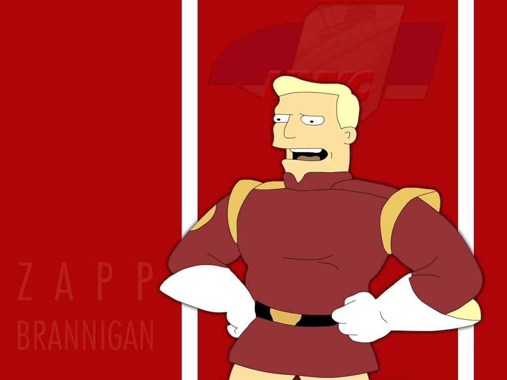 Zapp Brannigan - futurama wallpaper