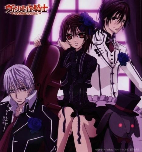 Zero, Yuuki and Kaname