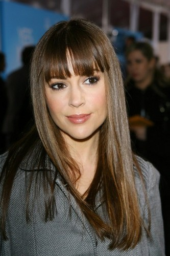 alyssa milano wallpaper probably with a box mantel and a portrait called alyssa at the movie premiere Yes man