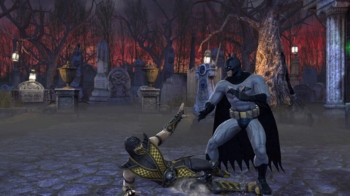 batmen vs scopion