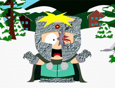 South Park hình nền probably containing anime entitled butters got blood!