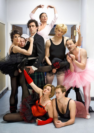 green wing cast