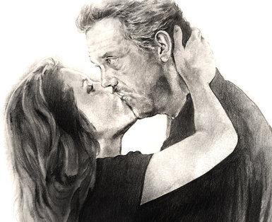huddy Kiss drawing (fan art)