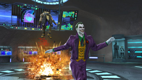 joker vs scopion
