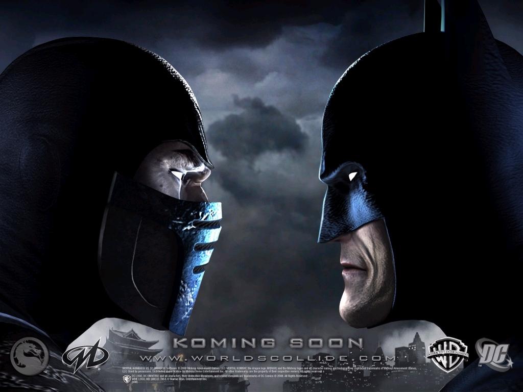 mortal kombat vs. dc universe images sudzero vs batmen hd wallpaper