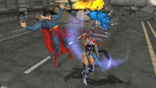 supermen vs kitana
