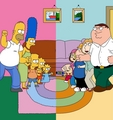 the simpsons vs family guy - the-simpsons-vs-family-guy photo