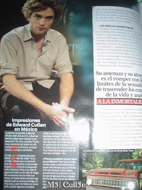 twilight in Premiere (mexican magazine)