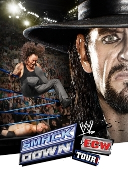 Undertaker achtergrond with a snap brim hat, a fedora, and a campaign hat entitled undertaker