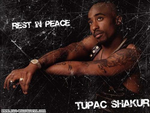 Tupac Shakur wallpaper with skin entitled 2Pac
