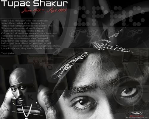 Tupac Shakur fond d'écran probably with a sign called 2Pac