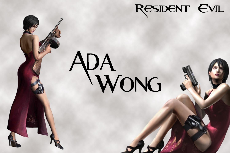 Ada Wong karatasi la kupamba ukuta