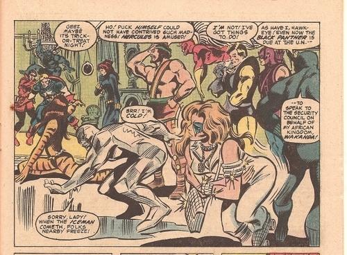 Avengers #211