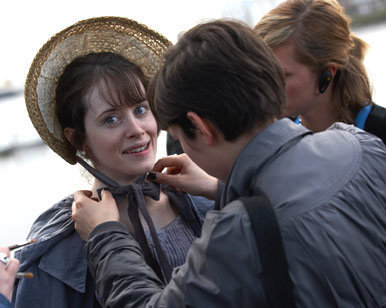 Little Dorrit wallpaper probably containing a bonnet called Behind-the-Scenes